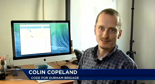 Colin talks Open Government App with WNCN
