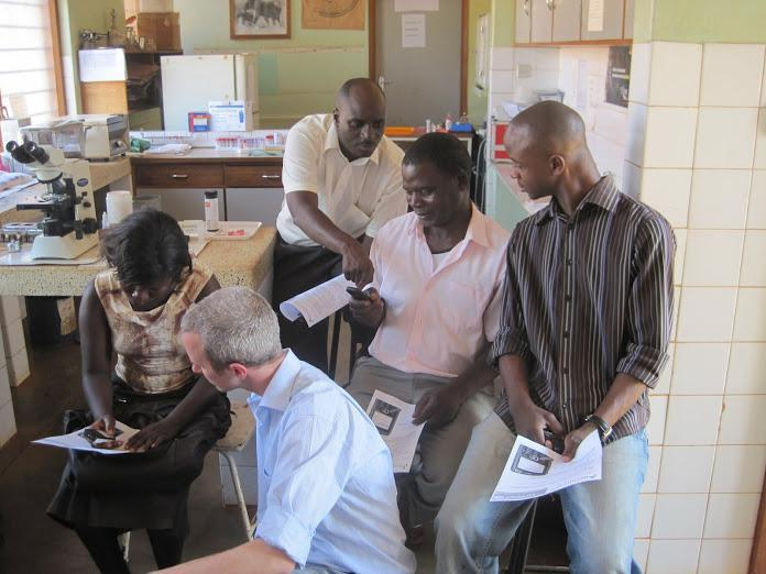 CEO Tobias McNulty with Project Mwana