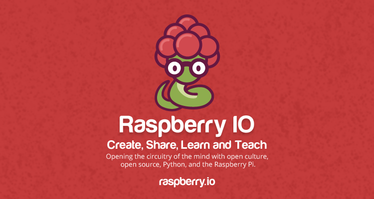 Raspberry IO announced at PyCon