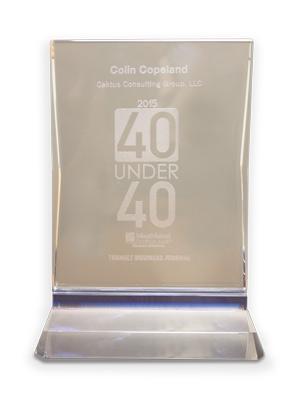40 under 40 award