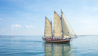 A sailing ship for ShipIt Day