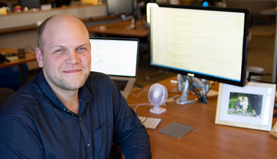 Caktus developer Michael Ashton